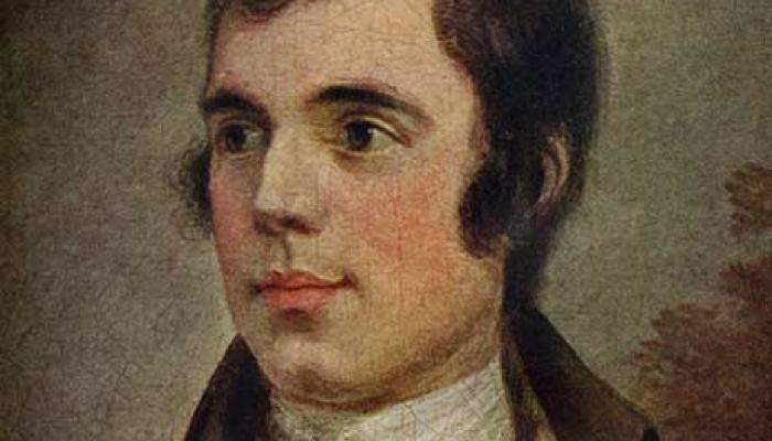 Portrait de Robert Burns