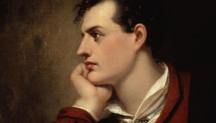Portrait de Lord (George Gordon) Byron