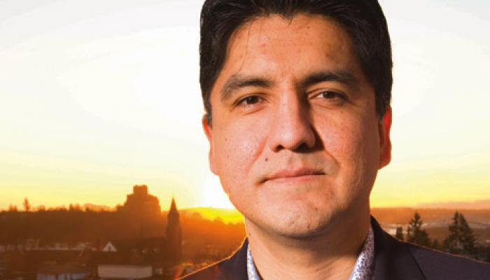 Portrait de Sherman Alexie