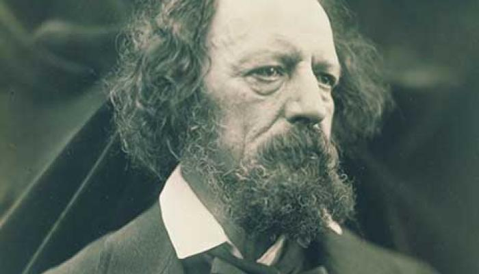 Portrait de Alfred, Lord Tennyson