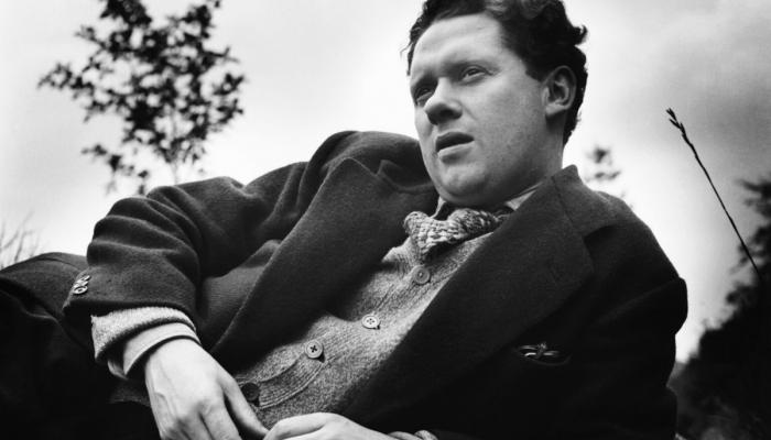 Portrait de Dylan Thomas